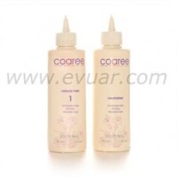 COTRIL - COAREE - WAVE AMMONIA FREE - Natural hair 1 - Waving lotion (90ml) Neutralizer (100ml)