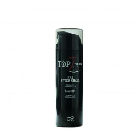 INCO - TOP SEVEN - PRE AFTER SHAVE (150ml) Emulsione Disarrossante