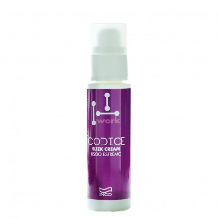 INCO - CODICE WORK - Sleek Cream (100ml) Crema lisciante