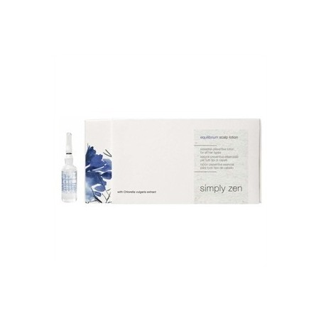 Z.ONE CONCEPT - SIMPLY ZEN - EQUILIBRIUM SCALP LOTION (8x6ml) Lozione equilibrante