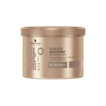 SCHWARZKOPF PROFESSIONAL - BLONDME - ALL BLONDES - KERATIN RESTORE BONDING MASK (500ml) Trattamento riparatore