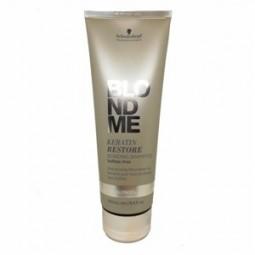 SCHWARZKOPF PROFESSIONAL - BLONDME - ALL BLONDES - KERATIN RESTORE BONDING (250ml) Shampoo