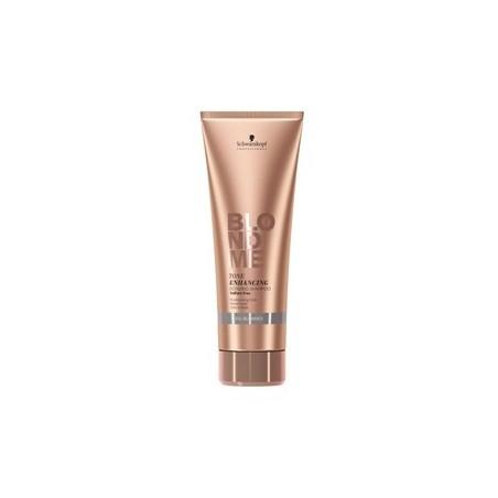 SCHWARZKOPF PROFESSIONAL - BLONDME - WARM BLONDES - TONE ENHANCING BONDING (250ml) Shampoo & Riflesso