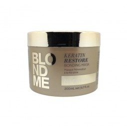 SCHWARZKOPF PROFESSIONAL - BLONDME - ALL BLONDES - KERATIN RESTORE BONDING MASK (200ml) Maschera