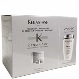 KERASTASE - DENSIFIQUE - (30 fiale x 6 ml )+BAIN DENSITE'(250ml) Programma densità capillare