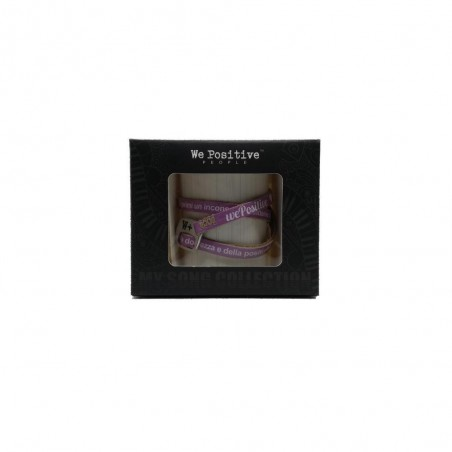 WE POSITIVE - BRACCIALETTO - MY HAIR LIMITED EDITION - Rosa
