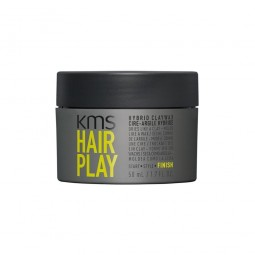 KMS CALIFORNIA - HAIRPLAY - HYBRID CLAYWAX (50ml) Cera tenuta forte opaca
