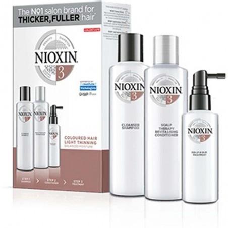 NIOXIN - SISTEMA 3 - Kit Shampoo + Balsamo + Trattamento
