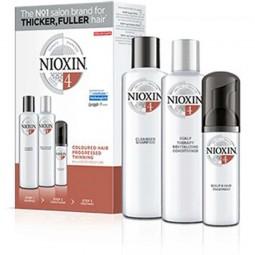 NIOXIN - SISTEMA 4 - Kit Shampoo + Balsamo + Trattamento