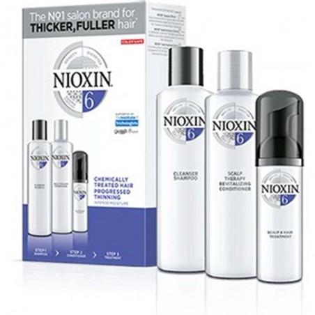 NIOXIN - SISTEMA 6 - Kit Shampoo + Balsamo + Trattamento