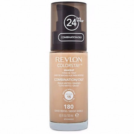REVLON - MAKEUP - REVLON COLORSTAY MAKE UP - Sand Beige Fondotinta