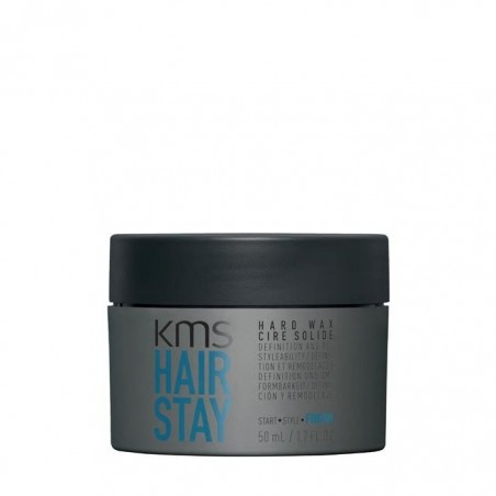 KMS CALIFORNIA - HAIRSTAY HARD WAX (50ml) Cera solida