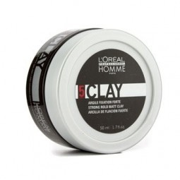 L'OREAL PROFESSIONNEL - HOMME - CLAY - Cera modellante (50ml)