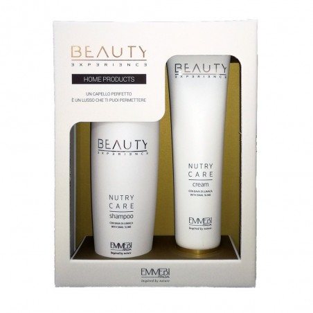 EMMEBI ITALIA - BEAUTY EXPERIENCE - HOME PRODUCTS Kit Shampoo + Crema