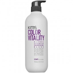 KMS CALIFORNIA - COLORVITALITY - BLONDE SHAMPOO (750ml)