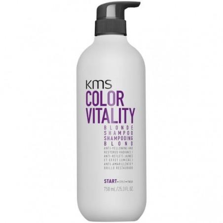 KMS CALIFORNIA - COLORVITALITY - BLONDE SHAMPOO (750ml) Shampoo anti giallo