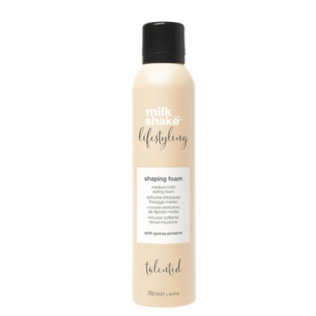 Z.ONE CONCEPT - MILK SHAKE - LIFESTYLING - SHAPING FOAM (250ml) Schiuma