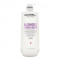 GOLDWELL - DUALSENSES - BLONDES & HIGHLIGHTS - Anti-yellow Shampoo (1Litro) Shampoo anti-giallo