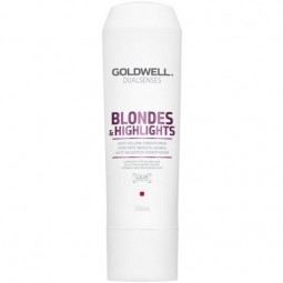 GOLDWELL - DUALSENSES - BLONDES & HIGHLIGHTS - Anti-yellow Conditioner (200ml)