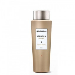 GOLDWELL - KERASILK CONTROL - KERATIN SMOOTH 2 MEDIUM (500ml) Trattamento alla cheratina