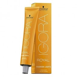 SCHWARZKOPF PROFESSIONAL - IGORA - ROYAL - FASHION LIGHTS - L-77 RAME (60ml) Schiaritura