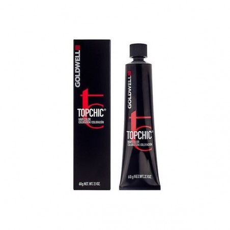 GOLDWELL - TOPCHIC - 4NA Castano Medio Cenere Naturale (60ml) Colore Professionale