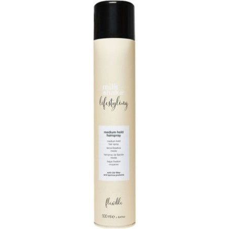 Z.ONE CONCEPT - MILK SHAKE - LIFESTYLING - MEDIUM HOLD HAIRSPRAY (500ml) Lacca