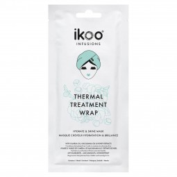 IKOO - INFUSIONS THERMAL WRAP TREATMENT HYDRATE und SHINE MASK (35g) Masken