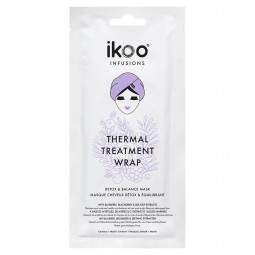 IKOO - INFUSIONS THERMAL TREATMENT DETOX und BALANCE MASK (35g) Masken