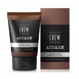 AMERICAN CREW - ACUMEN - AFTER SHAVE COOLING LOTION (100ml) Dopobarba