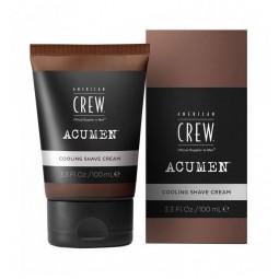 AMERICAN CREW - ACUMEN - COOLING SHAVE CREAM (100ml) Crema da barba