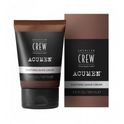 AMERICAN CREW - ACUMEN - SOOTHING SHAVE CREAM - Crema Dopobarba