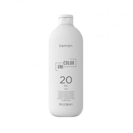 KEMON - UNI COLOR OXI - 20 VOLUMI 1000ML - Attivatore Ossidante