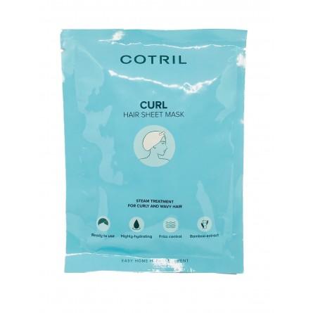 COTRIL - CURL - HAIR SHEET MASK - Maschera Monouso 35Ml