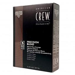 AMERICAN CREW - CLASSIC - PRECISION BLEND - CASTANO NATURALE 4-5 (3 x 40ml) Colorazione per capelli