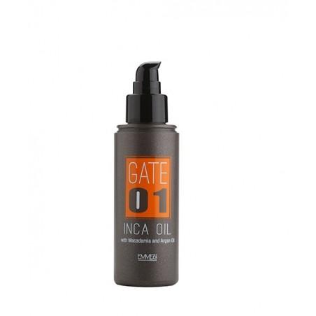 EMMEBI ITALIA - GATE 01- INCA OIL - Olio per capelli con Argan e Macadamia