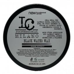 LC Professional Milano - BLACK WATER WAX (100ml) Cera nera per capelli grigi
