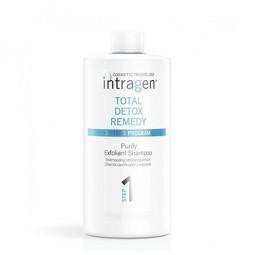 INTRAGEN - COSMETIC TRICHOLOGY - TOTAL DETOX REMEDY - Purify Exfoliant Shampoo Step 1(1000ml)