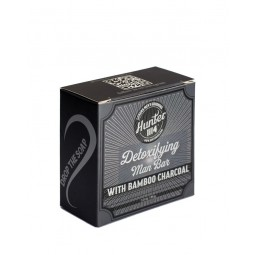 HUNTER 1114 - DETOXIFYING MAN BAR - Saponetta detossinante 85g