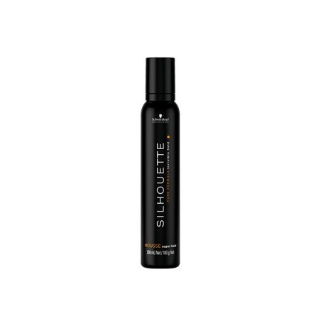 SCHWARZKOPF PROFESSIONAL - SILHOUETTE - SUPER HOLD MOUSSE (200ml) Mousee