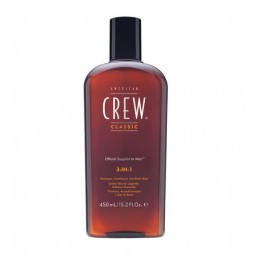 AMERICAN CREW - 3 IN 1 Shampoo Conditioner and Body Wash (250ml)