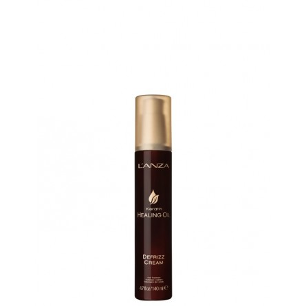L'ANZA - KERATIN HEALING OIL - DeFrizz Cream (140ml) Crema styling