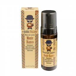 BARBA ITALIANA - MONTE BIANCO (150ml) Mousse per rasatura
