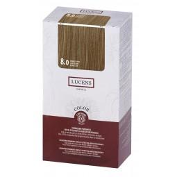 LUCENS - COLOR KIT (145ml) 8.0 Light Blonde - PermanentE Färbung