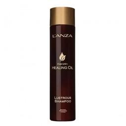 L'ANZA - KERATIN HEALING OIL - Glänzendes Shampoo (300ml) Beschädigtes Haar Shampoo