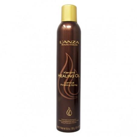 L'ANZA - KERATIN HEALING OIL - Lustrous Finishing Spray (350ml) Lacca lucidante
