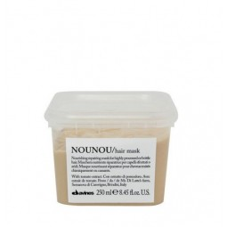 DAVINES - ESSENTIAL HAIR CARE - NOUNOU HAIR MASK (250ml) Maschera riparatrice