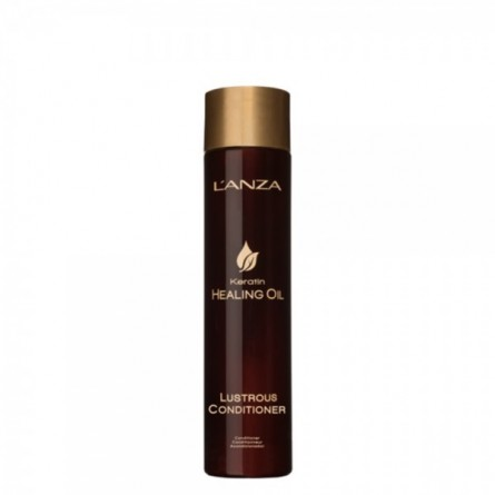 L'ANZA - KERATIN HEALING OIL - Lustrous Conditioner (250ml) Balsamo