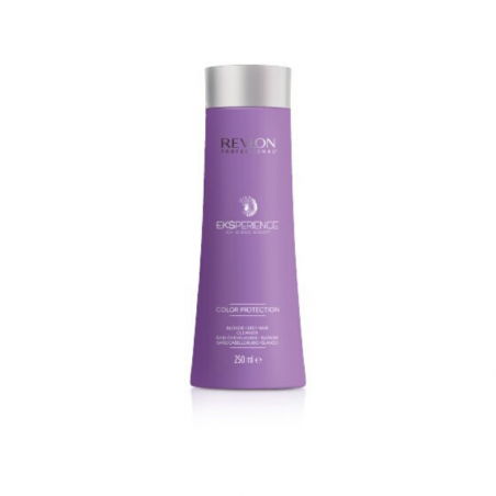 REVLON - EKSPERIENCE - COLOR PROTECTION BLONDE-GREY SHAMPOO (250ml) Shampoo per capelli biondi o grigi