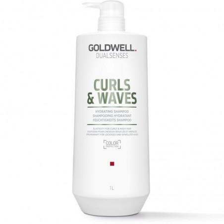 GOLDWELL - DUALSENSES - CURLS & WAVES Hydrating Shampoo (1000ml) Shampoo per capelli ricci
